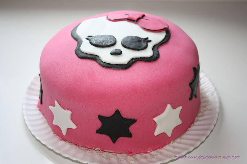 La vie en violet: Tarta Monster High