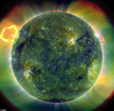 صور خاصة للشمس ملتقطة بواسطة وكالة ناسا NASA من الفضاء