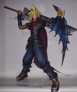 Final Fantasy - Cloud Strife Papercraft