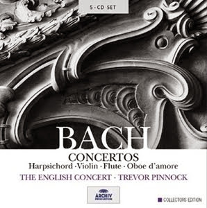 Bach y Pinnock