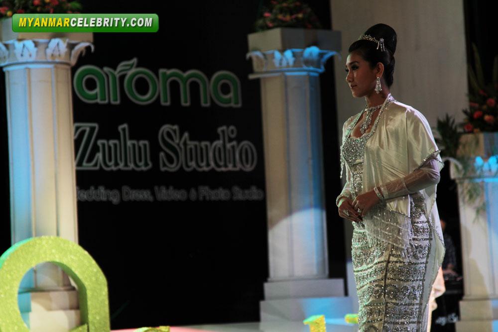 Myanmar Popular Singers @ Aroma Wedding Fashion Show 2012 | Myanmar