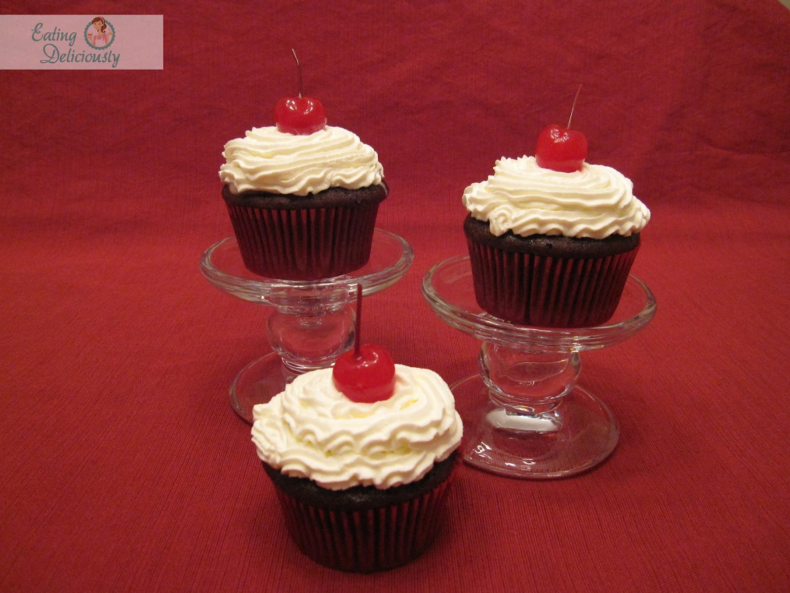 Coca Cola Cupcakes With Chocolate Cake Mix