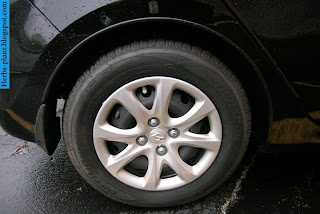 Hyundai verna car 2012 tyres/wheel - صور اطارات سيارة هيونداى فيرنا 2012