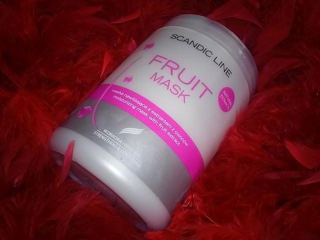 Maska scandic fruit - owocowa przyjemność do mycia włosów :)