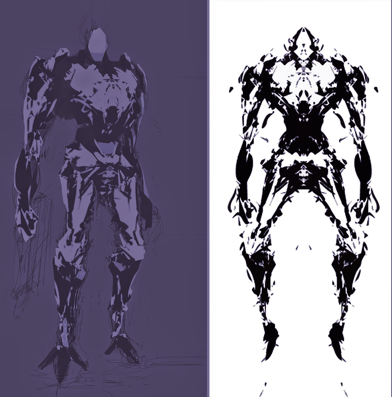 Mech Cyborg Robot Concept Art