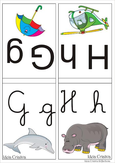Varal de Letras para Imprimir