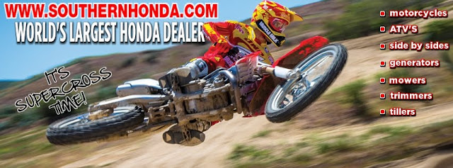 2013 CRF450R AVAILABLE FROM SOUTHERN HONDA POWERSPORTS