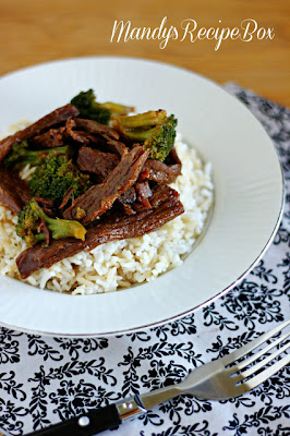 Mandy's Recipe Box: Slow Cooker Beef & Broccoli