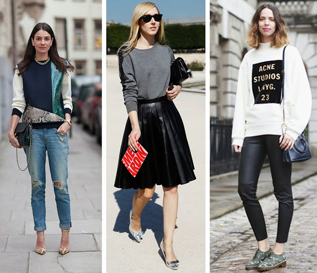 3 Ways To Wear A Sweatshirt