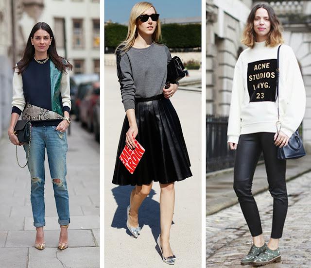 3 Ways To Wear A Sweatshirt