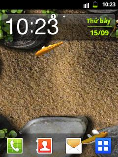 Chụp ảnh màn hình trên Samsung Galaxy Y không cần dùng phần mềm