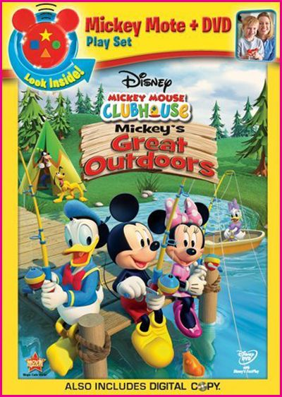 Mickey Mouse Clubhouse Mickeys Great Outdoors 2011 DVDRIP UKnOwN