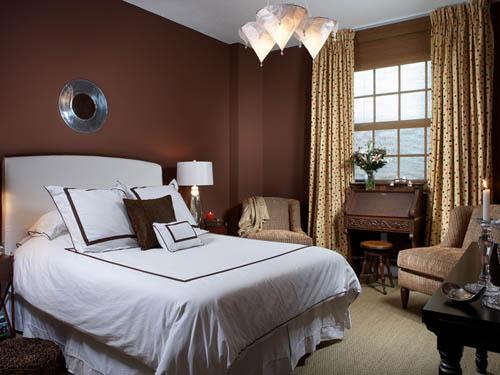 Decoraci n de interiores habitaci n con muebles modernos - Habitacion de madera ...
