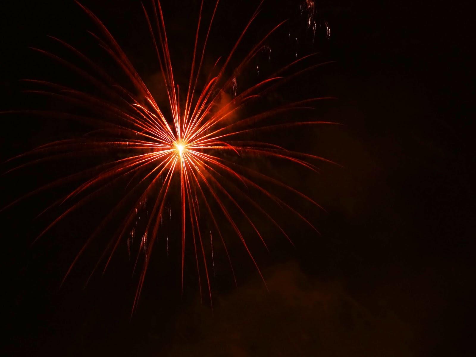 asturias fiesta de prao fuegos artificiales