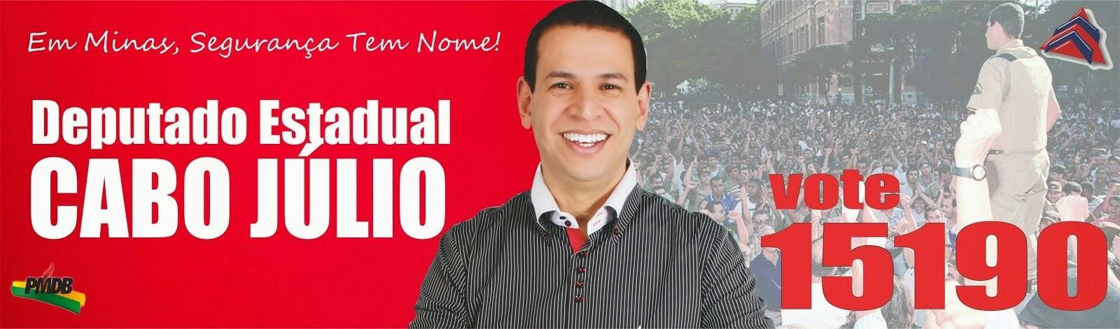 VOTE 15190 DEPUTADO ESTADUAL CABO JULIO