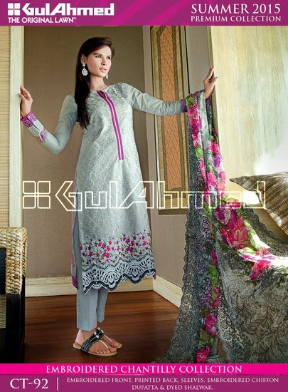 Chantilly De Chiffon Summer Collection by Gul Ahmed 9