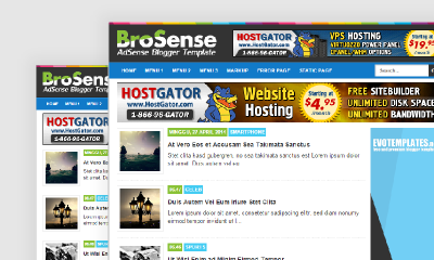 BroSense Free Download Templates SEO Responsive Blogspot and WordpressResponsive Blogger Template