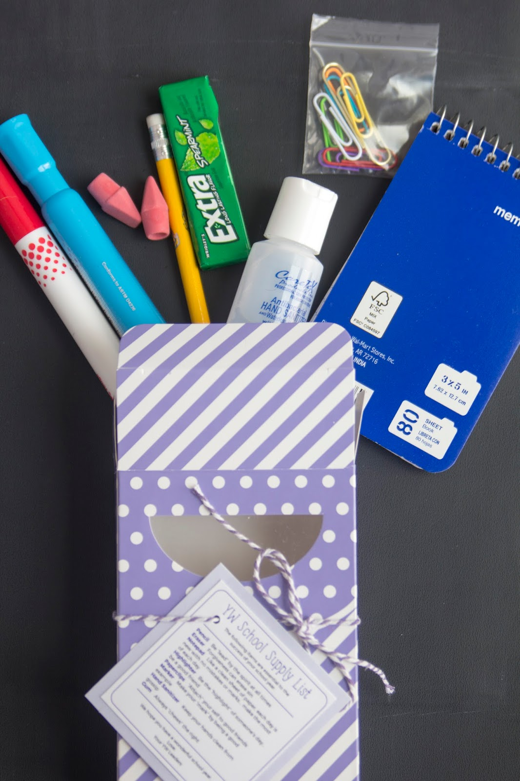 Young Women Back to School Kit