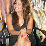 Prabhjeeth Kaur Hot Photo Gallery in Short Dress at Intelligent Idiot Movie Logo Launch 38