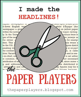 The Paper Player Headliner