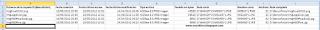 VBA: Una macro en Excel para listar las propiedades de un archivo.
