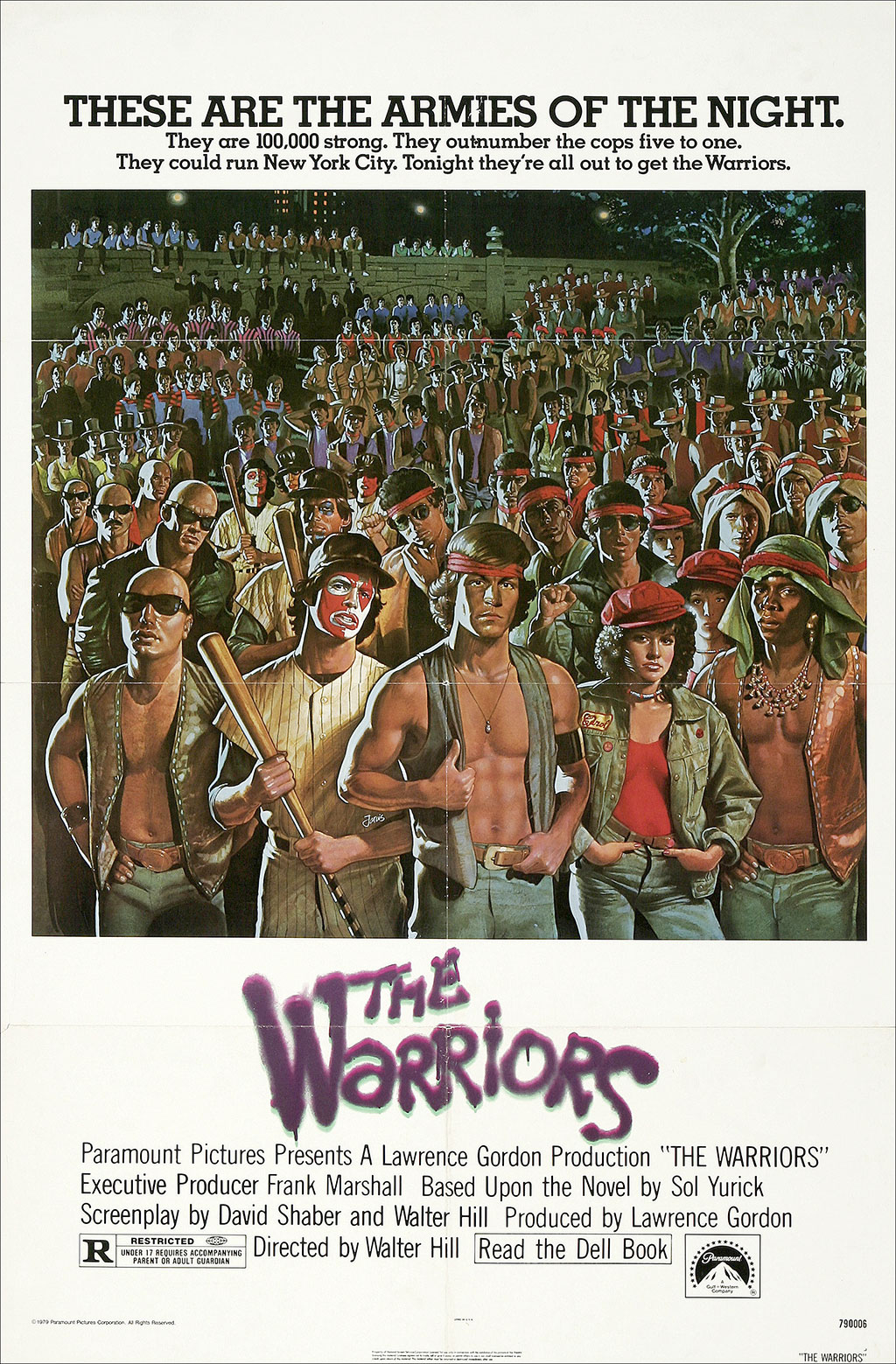 bad ass movie posters the warriors