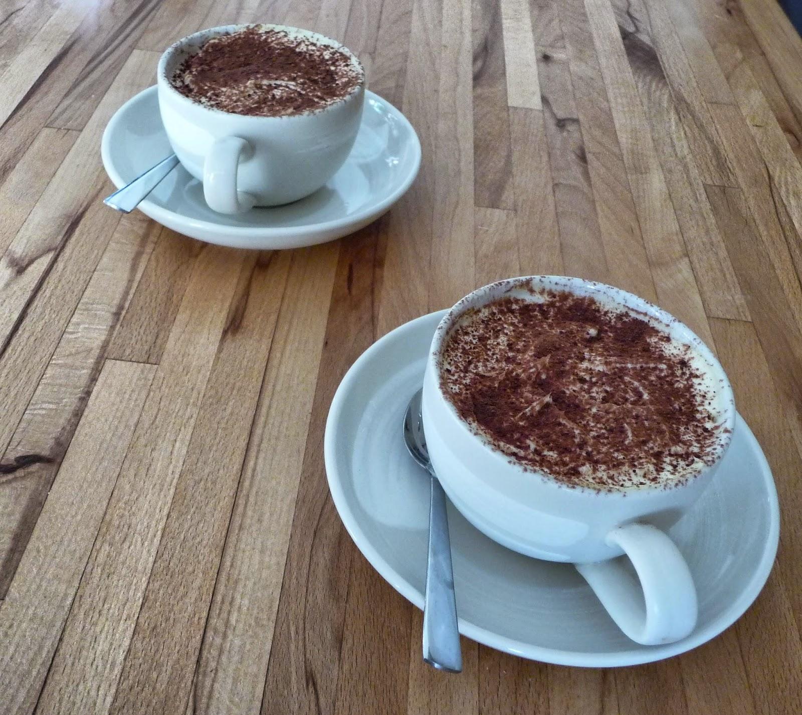 Tiramisu coffee cups