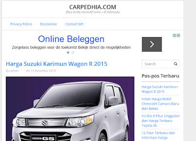 Infomasi Mobil Terbaru Kunjungi Carpedhia.com