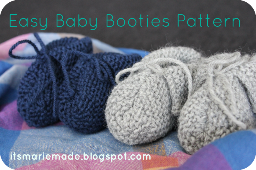 Its Marie Made Easy Baby Booties Pattern