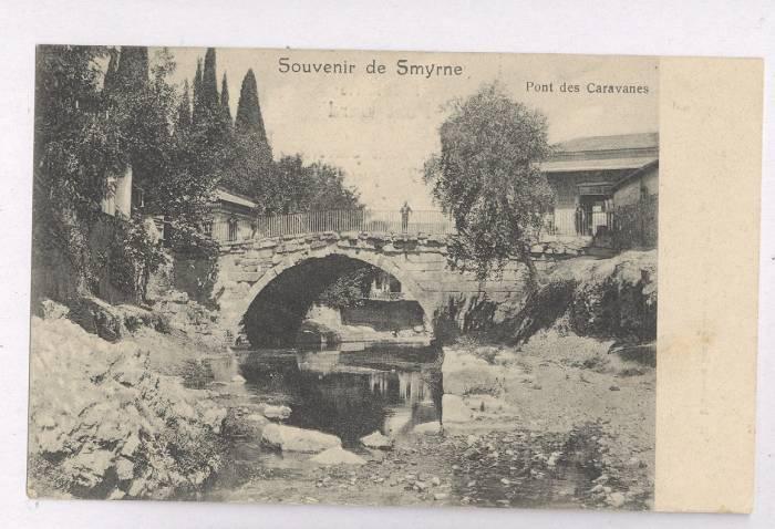 Γέφυρα Καραβανιών στη Σμύρνη. Izmir Kervan koprusu