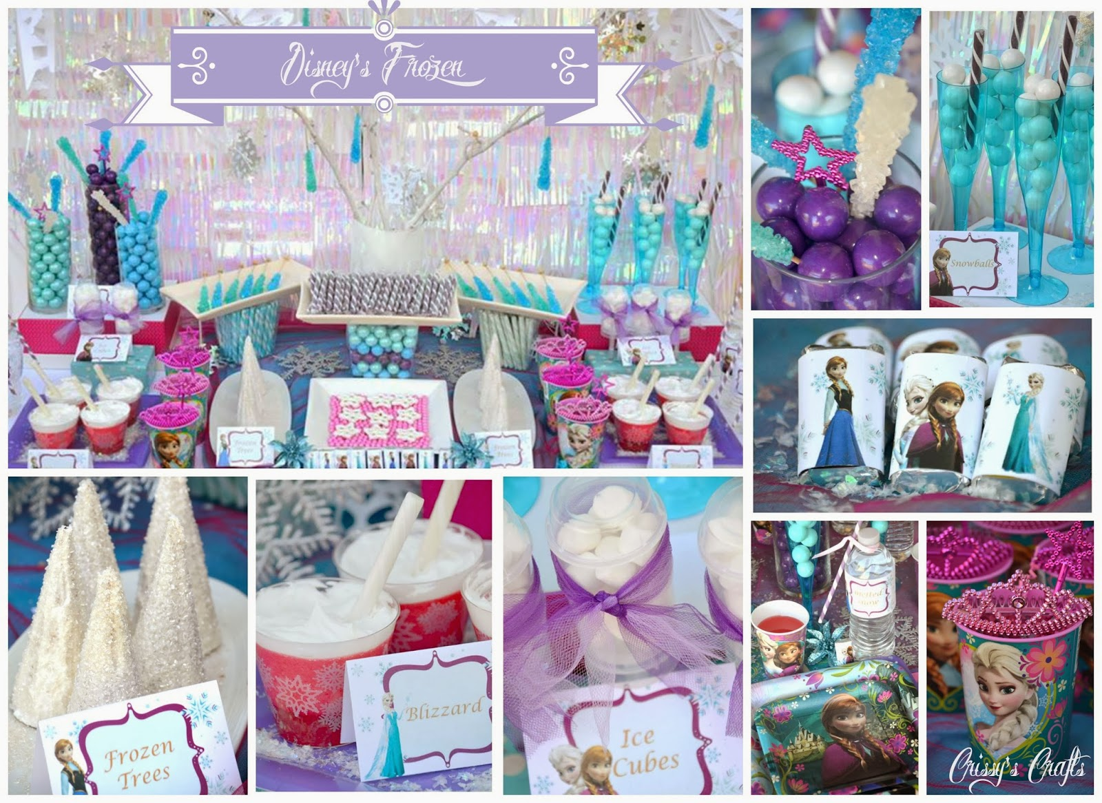 Crissy 39 S Crafts Disney 39 S Frozen Party Giveaway