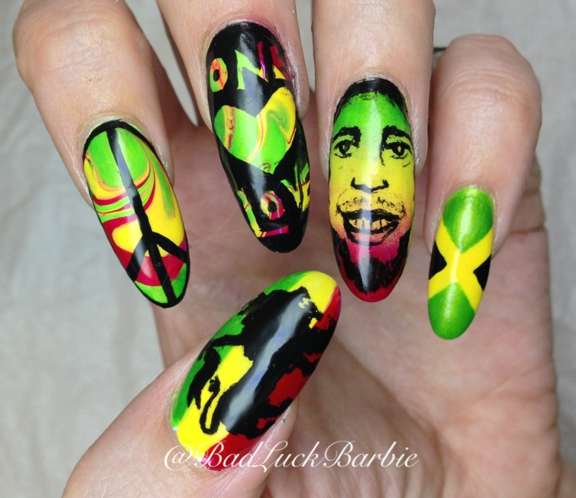Bad Luck Barbie: Bob Marley/Jamaica Themed!