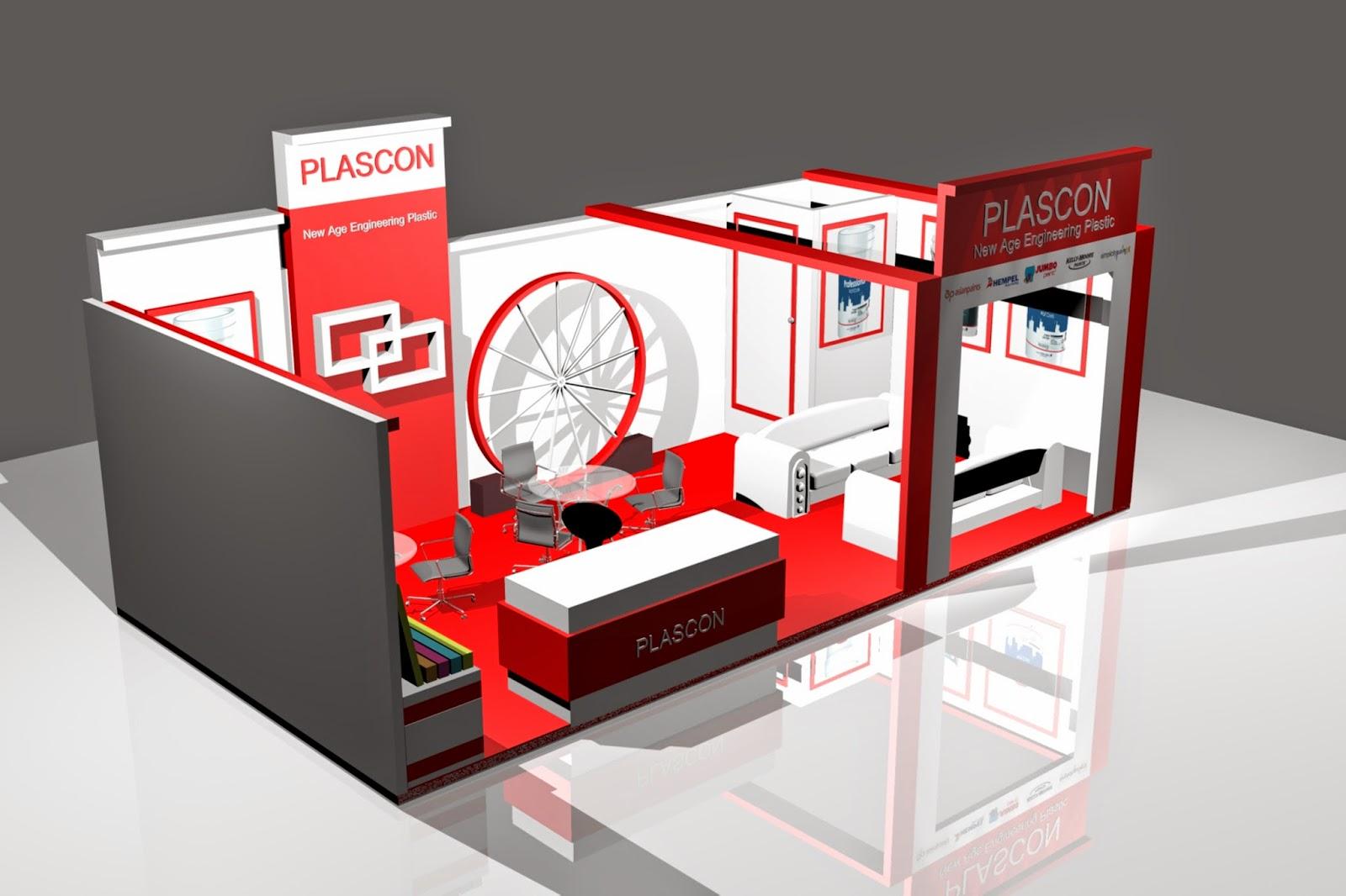 3d Exhibition Stall Design : Saravanan designs plascon exhibition d stall design