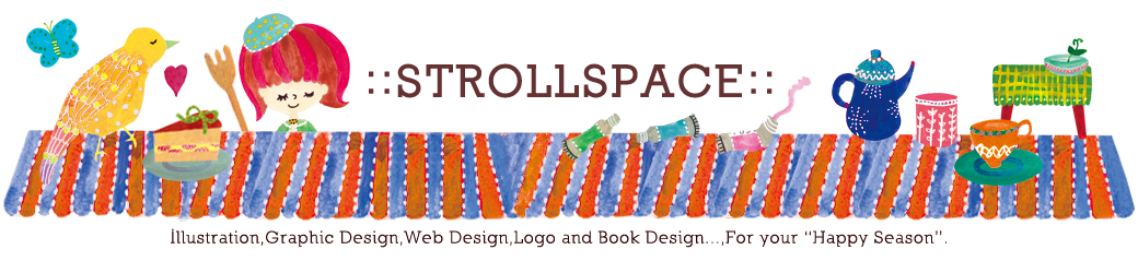 ::STROLL SPACE:: -Illustration and Graphic Design works -