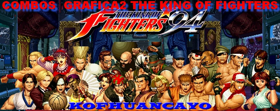 KOF '94 Combos Grafica2