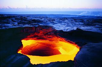 #19 Volcano Wallpaper
