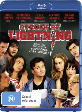 Filme Poster Struck by Lightning BDRip XviD & RMVB Legendado