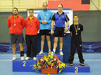 Podio Absoluto dobles masculinos 2013