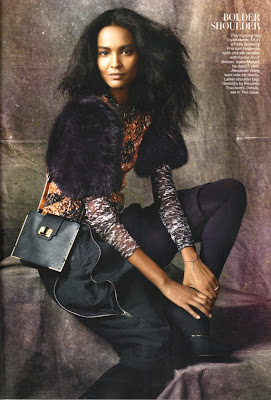 Hot Shoot | Liya Kebede pour Vogue US