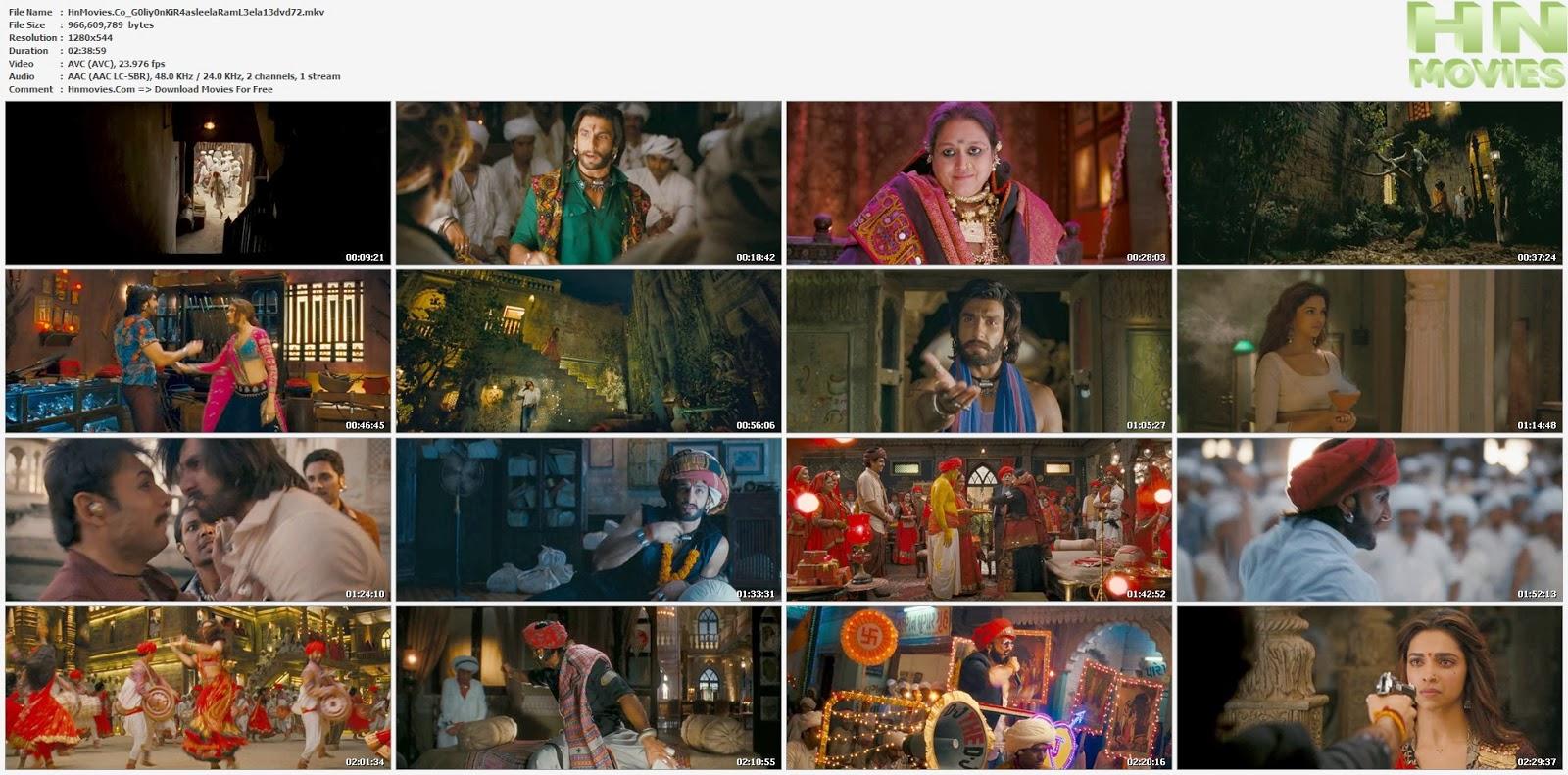 movie screenshot of Goliyon Ki Rasleela Ram-Leela fdmovie.com