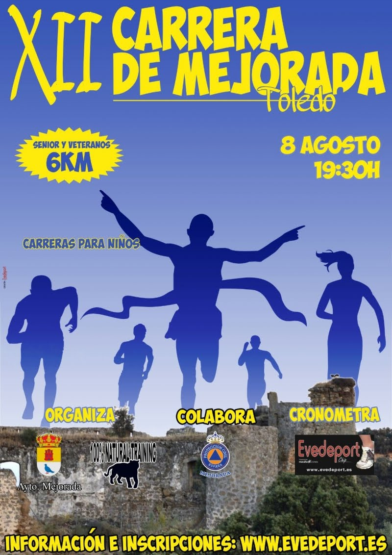 XII Carrera Popular de Mejorada