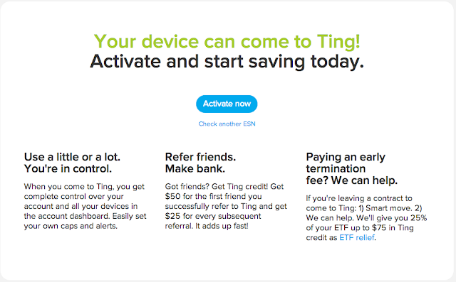 Ting Moto G Activation