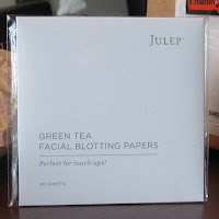 Julep blotting papers