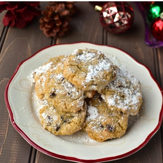 Almond-Pistachio Cloud Cookies (Gluten free & Dairy free recipe)