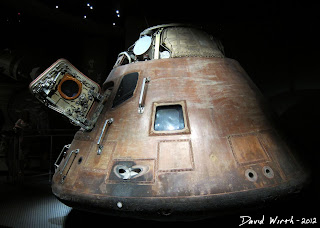 apollo 14 capsul, space, moon, neil armstrong, actual ship, craft