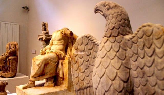 Ο Δίας και ο θεϊκός του αετός!