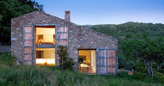 Fachadas de piedra fachadas de casas en piedra artificial - Fachadas de piedra artificial ...