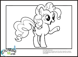 mlp pinkie pie coloring pages printable