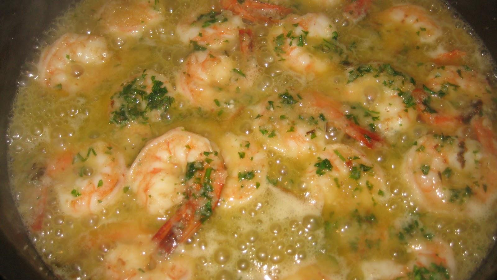 how to fix shrimp scampi
