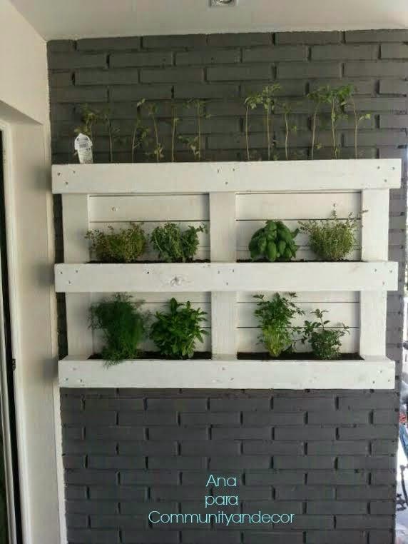 Bricolaje en community decor for El jardin urbano